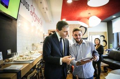 Gianluca Monteleone e studente